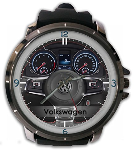 Volkswagen Steering Wheels Custom Metal Sport Rubber Band Big Face