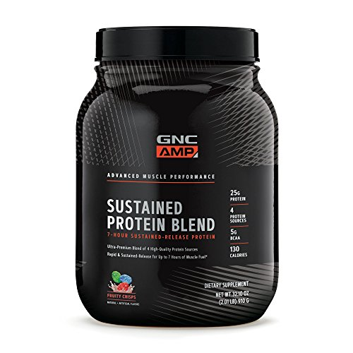 GNC AMP Sustained Protein Blend - Fruity Crisps