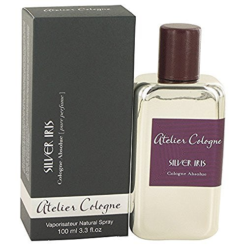 Silver Iris Cologne By Atelier Cologne 3.3 oz Pure Perfume Spray For Men - 100% AUTHENTIC