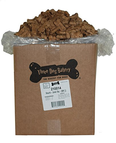 Phillips THREE DOG FOOD BAKERY 015095 Biscuits Carob Chip...
