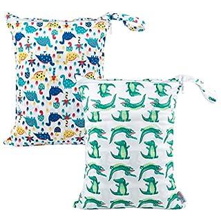 ALVABABY 2pcs Wet Dry Bags Mommy Bag L-YX2834