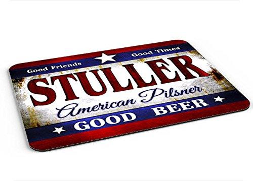 Stuller American Pilsner Mousepad/Desk Valet/Coffee Station Mat from ZuWEE