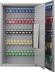 Barska 150 Position Key Cabinet with Key Lock, Grey