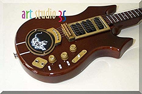 Amazon Jerry Garcia Miniature Mini Guitar Tiger Alembic