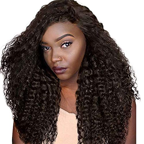 Clearence Wigs Curly Wig Glueless Rose net Wigs Black Women Indian Remy Human Hair Lace Fron