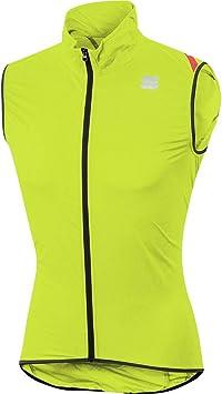 Sportful Hot Pack 6 - Chaleco Deportivo, Color Amarillo Fluorescente