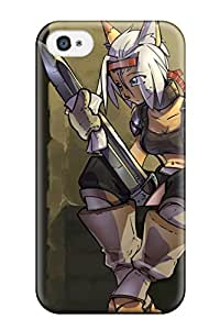 New Arrival Cover Case With Nice Design For Iphone 4/4s- Catgirl Anime