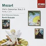 Mozart: Violin Concertos Nos. 1-3; Rondo, K. 373