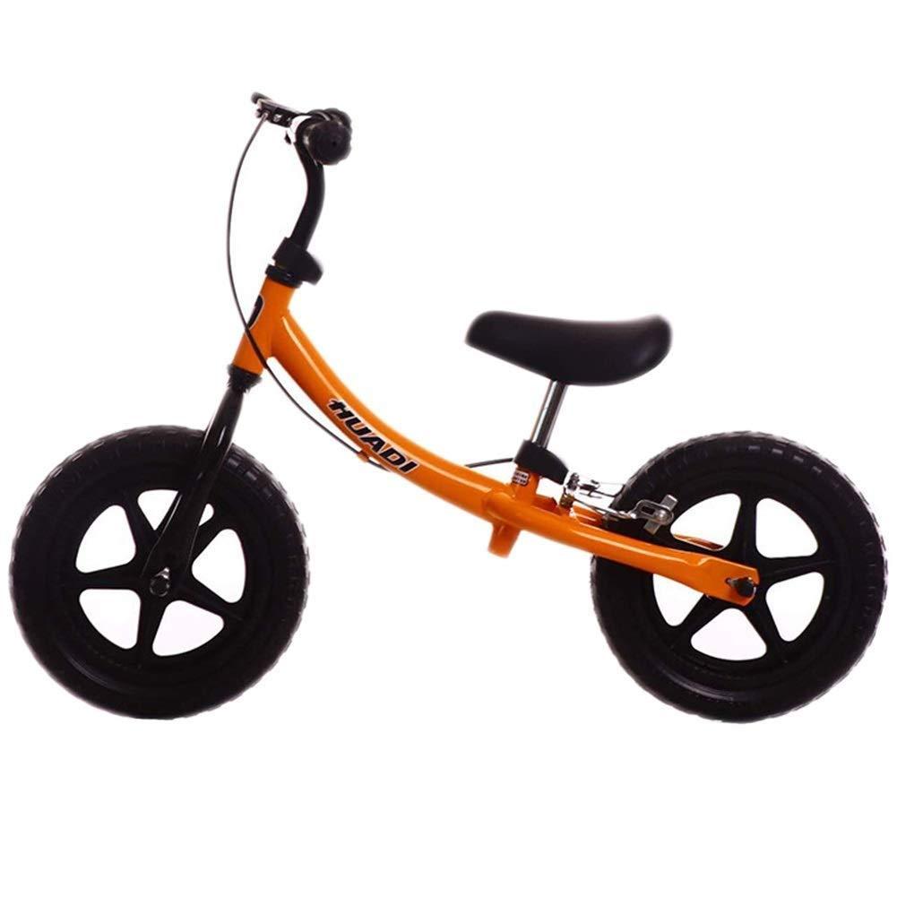 26歳の女の子用バランスバイク、子供向け調整可能トレーニング自転車、ペダルなし、ソフトサドル、12