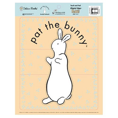 Pat the Bunny Touch and Feel Frame Tray Jigsaw Puzzle