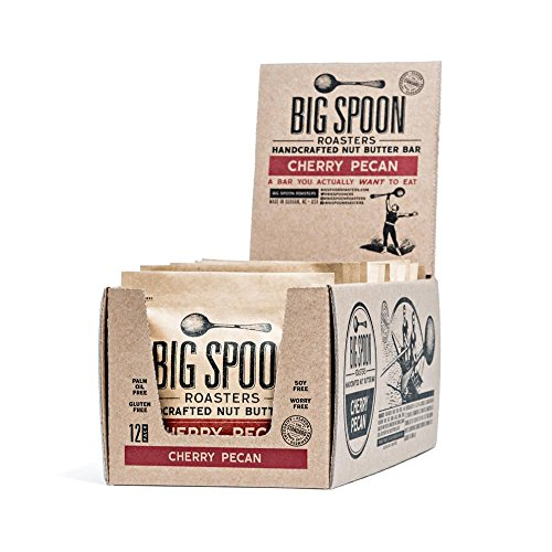 Big Spoon Roasters Nut Butter Bars (Cherry Pecan, Pack of - Cherry Pecan