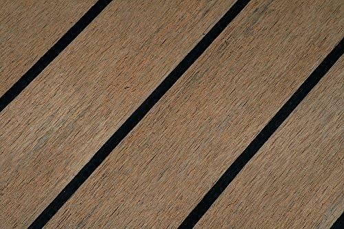 RoSchYachts Kunststoffteak RO0000000768 KunststoffteakdeckBodenbelagClassic Fuge Schwarz