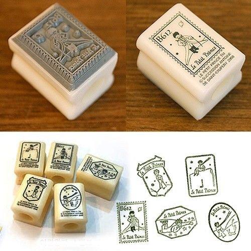 Diy Rubber Stamp 5ea Set Kit Le Petit Little Prince