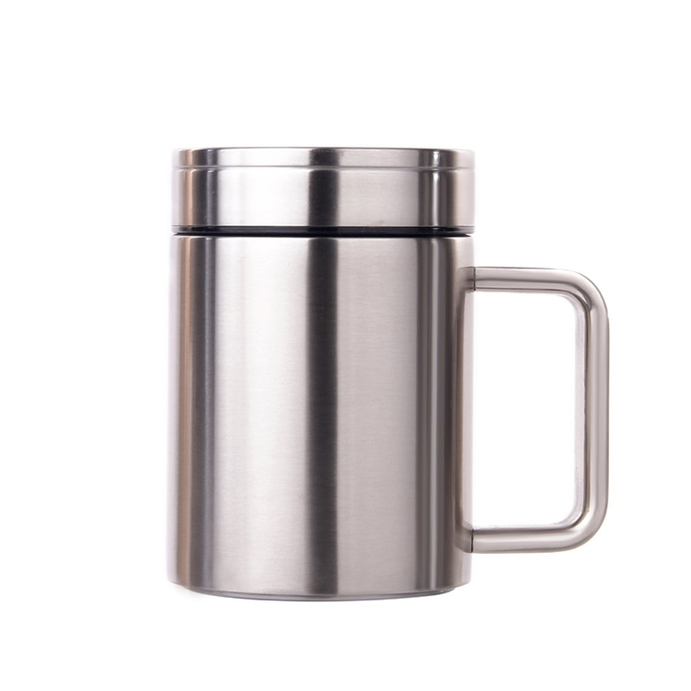 BAINSN Travel Mugs Travel mugs,commuter cup,stainless steel vacuum insulation cup-A