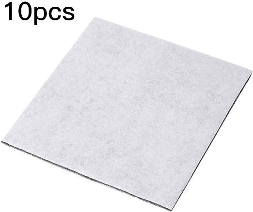 Filtro de algodón para aspiradora, 10 unidades, filtro electrostático de algodón para purificador de aire, aspiradora, juego de filtros HEPA para motor de repuesto: Amazon.es: Hogar