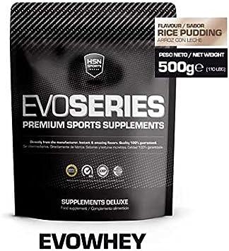 HSN Sports Evowhey Proteína Concentrada de Suero Sabor Arroz con Leche - 500 gr