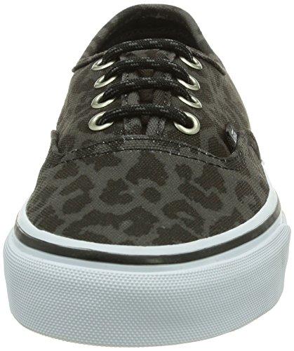 Leopard Black Sneaker Unisex Nero adulto AUTHENTIC U Vans OnYx0ZY