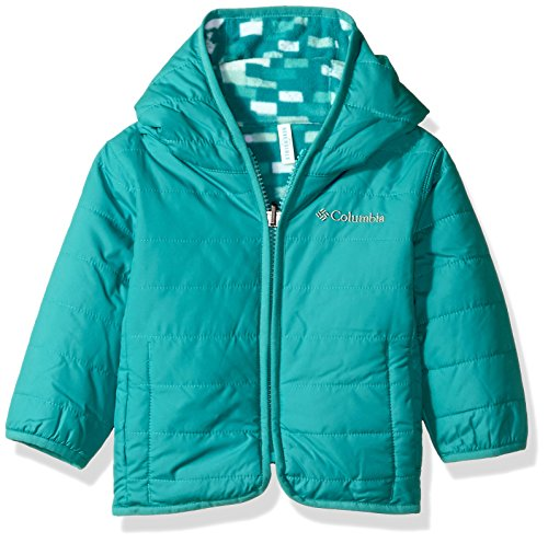Columbia Baby Boys' Double Trouble Jacket, Pacific Rim Blocks, 12-18 Months (Kids Baby Jacket)