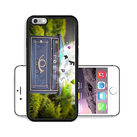 Liili Premium Apple iPhone 6 Plus iPhone 6S Plus Aluminum Backplate Bumper Snap Case Post box with colorful abstract letters 29287624