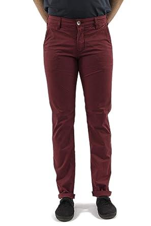 1404d330473 Lee Cooper Pantalons garven 7336 Garment Dye Leg 34 Rouge  Amazon.fr ...