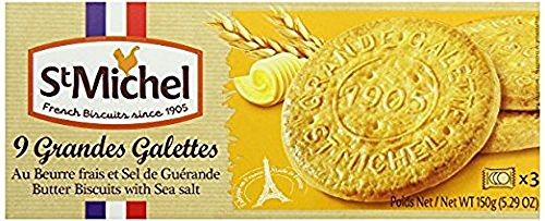 St Michel Galettes Biscuits (130g) (4 PACK) - French Biscuits