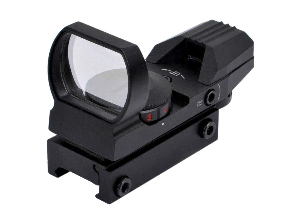 Feyachi Reflex Sight - Adjustable Reticle (4 Styles) Both Red and Green in one Sight! by Feyachi