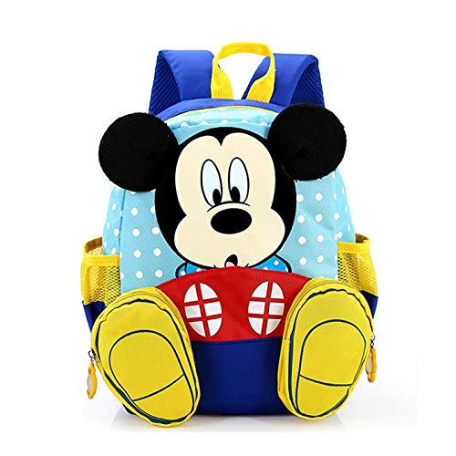 e5c4b8eb7964 Image Unavailable. Image not available for. Color  2017 Cartoon Mickey  School Bag Minnie Kids Children Kindergarten Backpack kid Bags Satchel For  Boys Girls