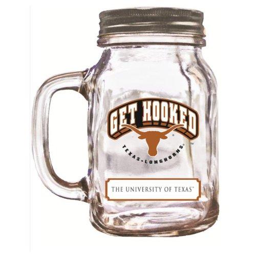NCAA Texas Longhorns Mason Jar, 20-Ounce