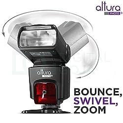 Altura Photo Professional Flash Kit For Nikon Dslr - Includes: I-ttl Flash (Ap-n1001), Wireless Flash Trigger Set & Accessories 5