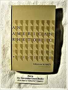 An American rhetoric ( edition)