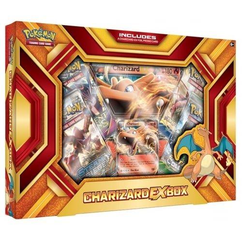 Pokemon TCG: Charizard-EX Box-Fire Blast Card Game (Charizard Ex)