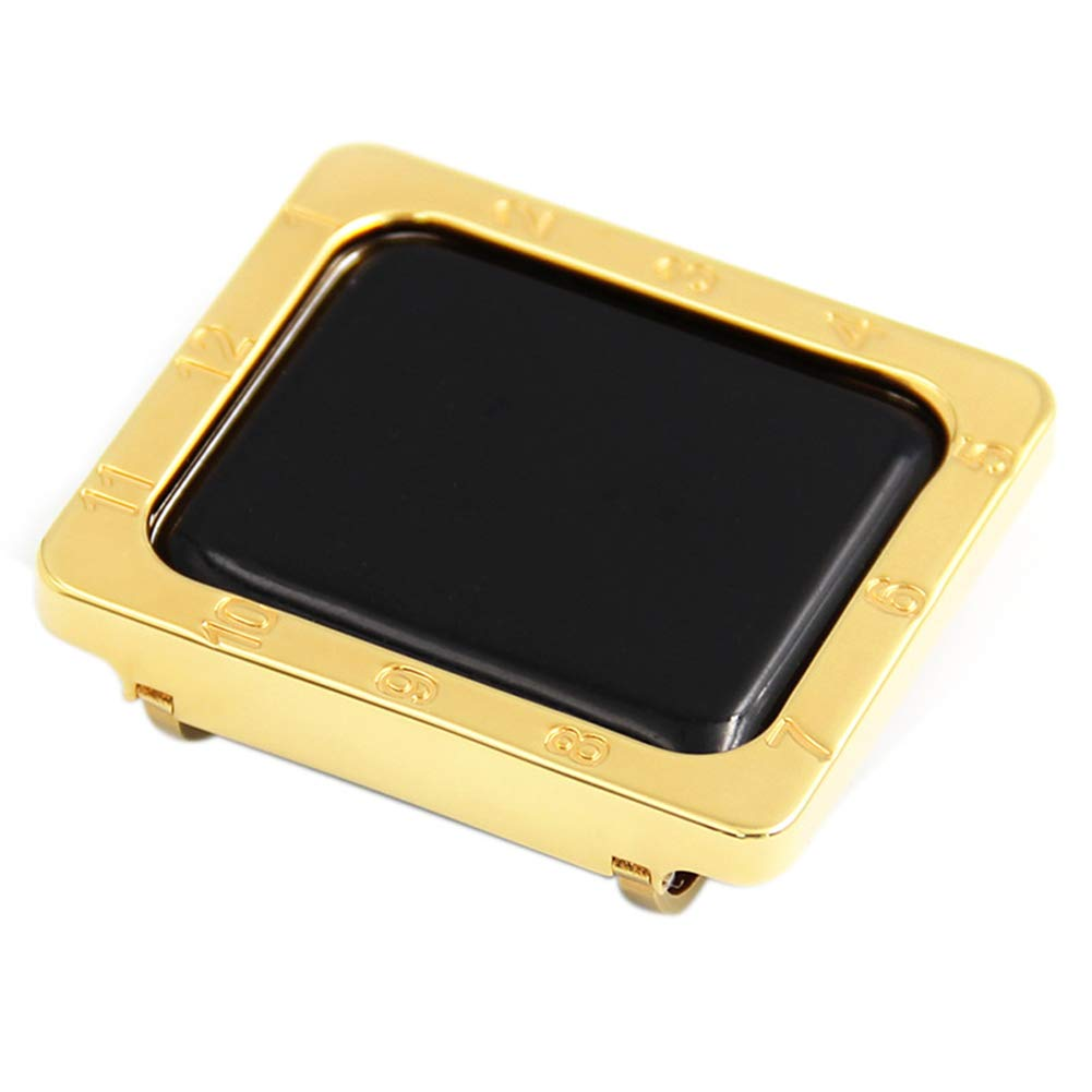 YALTOL for Iwatch/Apple Watch Series 4/3/2/1 Protection Frame with Metal Case Frame Bezel,40mm,44mm,38mm,42mm,38mm
