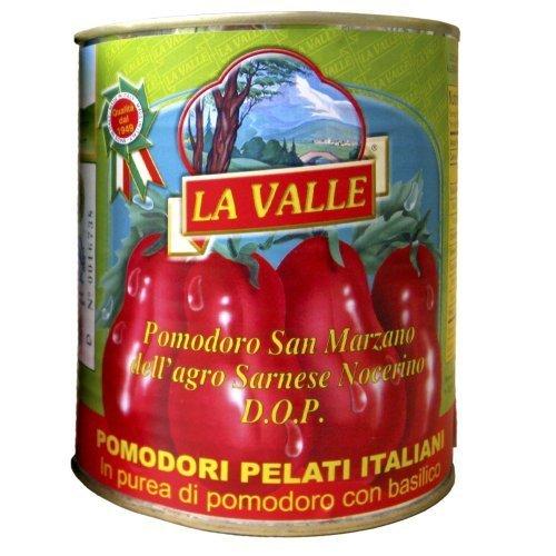 Pizza San Marzano (La Valle San Marzano D.O.P. Italian Peeled Tomatoes 9-pack of 28 oz cans by La Valle)