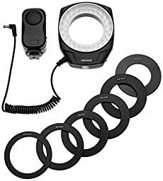 Neewer 48 LED Ring Light for Macro Canon Nikon Sigma Tamron Lens