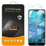 (2 Pack) Supershieldz for Nokia 7.1 Tempered Glass