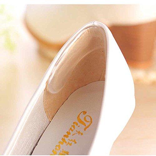 addensante Gel alto Shoes Adesivi tallone Foot Aabuild Cuscino Grip Tacco Feet tm Protector Care Invisibile con After Silice xqxwXBf8
