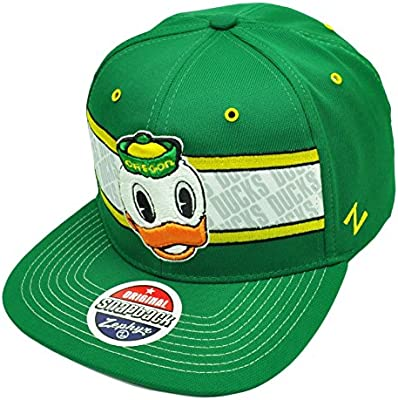 top design closer at best online Amazon.com : Oregon Ducks Duck Logo Snap Back Adjustable OSFA ...