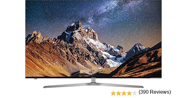 "Hisense H65U7A - TV Hisense 65"" ULED 4K Ultra HD, HDR Perfect, Smart TV VIDAA U, Local Dimming, Diseño metálico sin marcos, Grosor ultrafino (8,9 mm), Modo Deportes"