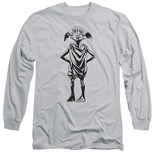 Long Sleeve: Harry Potter- Dobby Portrait Longsleeve Shirt Size M - Portrait Potter