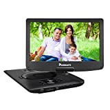 NAVISKAUTO 12.5 Inch Full HD IPS Portable DVD Player, with SD Card Slot and USB Port