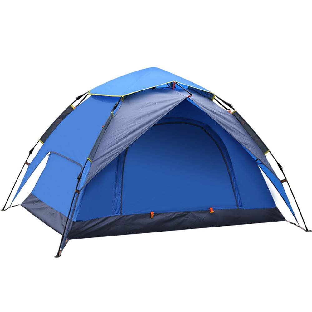 YWJ Wasserdichtes Zelt 500 Outdoor Dome Shelter in Blau-2 Personen