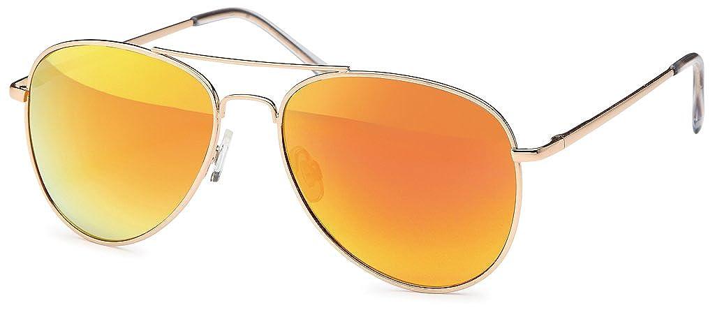 Balinco Hochwertige Pilotenbrille Sonnenbrille 70er Jahre Herren /& Damen Sunglasses Fliegerbrille verspiegelt