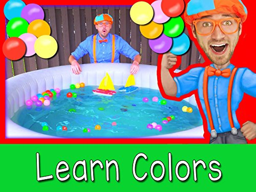 Boats for Preschoolers with Blippi - Learn Colors in the Hot -