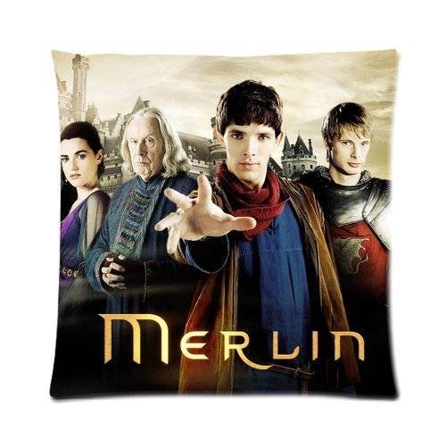 [andersonfgytyh Merlin: The Complete Series Soft Pillow case Cover 16*16 Inch (Twin sides)Zippered] (Merlin Costumes)