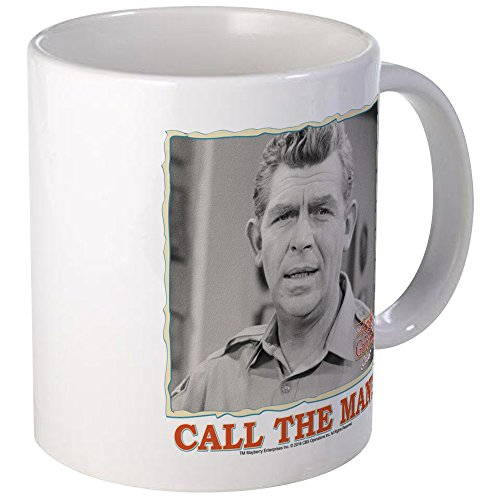 CafePress Call The Man! Mug Unique Coffee Mug, Coffee Cup
