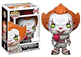 Funko Pop Stephen King It Pennywise Exclusive with red balloon Pop Vinyl Figure