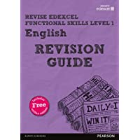Revise Edexcel Functional Skills English Level 1 Revision Guide: includes online edition (Revise Functional Skills)