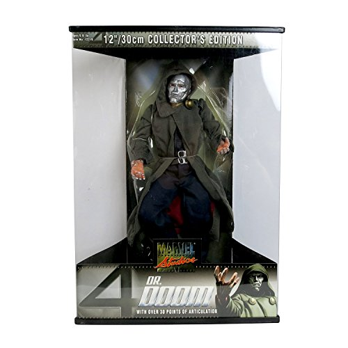 Marvel Studios Collector Edition 12 Inch Tall Action Figure : DR. DOOM with over 30 Points of Articulation