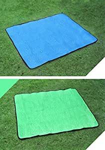 heartogether Picnic Alfombrilla Tiendas de campaña Gamuza de Oxford acampar Deportes al aire libre dampproof Mats exterior Productos, azul