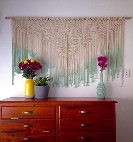 Macrame Wall Decor Hanging - Bohemian Geometric decor